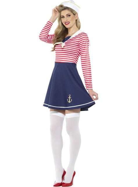 Sailor Classic Costume for Girls - woman