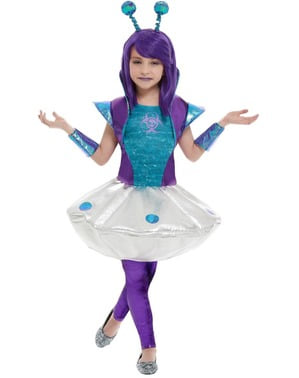 Costum de Alien pentru fată