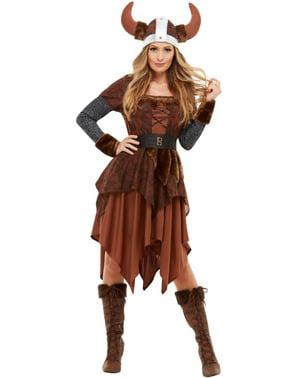 Disfraz de reina Vikinga para mujer