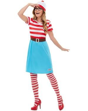 Costume Dov'è Wally? Wenda per donna