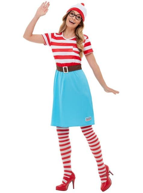 Disfraz de ¿Dónde está Wally? Wenda para mujer - mujer