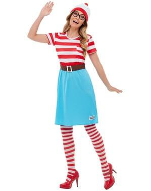 Costum Unde este Wally? Wenda pentru fată