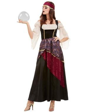 Spåkone Deluxe kostume til kvinder