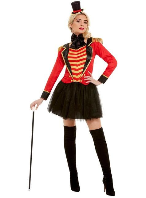 Disfraz de domadora de circo Deluxe para mujer