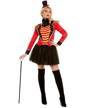 Deluxe circusdirecteur kostuum voor vrouw