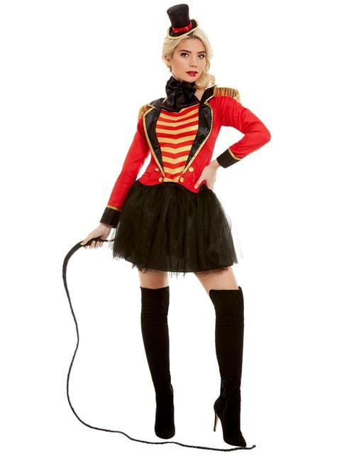 Zirkusdompteurin Kostüm Deluxe für Damen