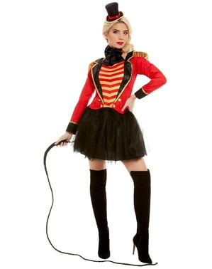 Deluxe Ringmaster Costume for Women