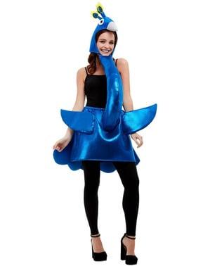 Kostým modrý páv pro dospělé