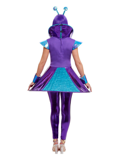 Alien kostuum voor vrouwen