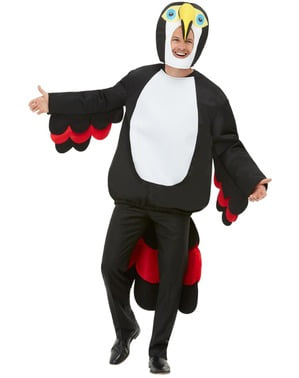 Kostým tukan pro dospělé