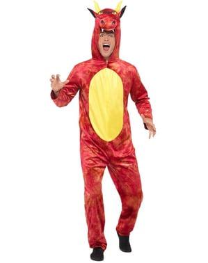 Drage Deluxe kostume til voksne
