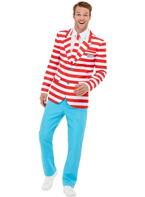 Traje ¿Dónde está Wally? para hombre