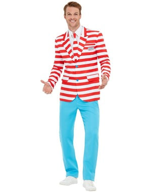 Where's Wally? design Suit