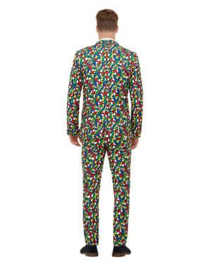 Zauberwürfel Print Anzug