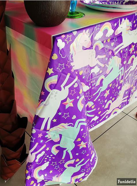 Mantel de unicornio - Happy Unicorn - para tus fiestas
