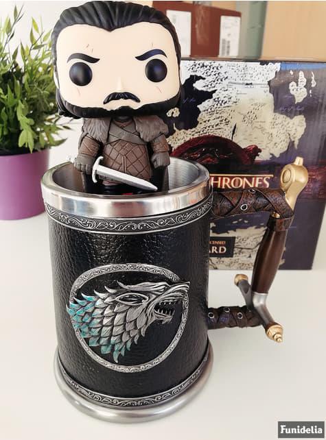 Jarra Juego de Tronos Stark Winter is Coming