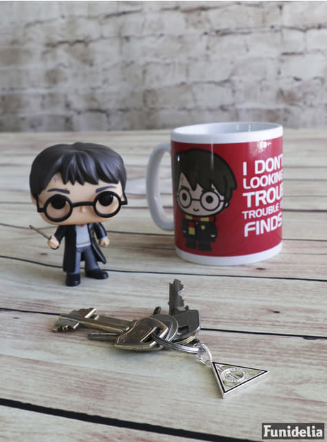 Taza de Harry Potter Front and Back - oficial