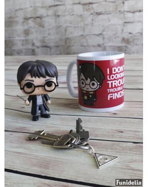 Tasse Harry Potter von vorne und hinten