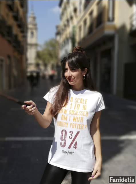 Camiseta de Harry Potter Obsessed para mujer