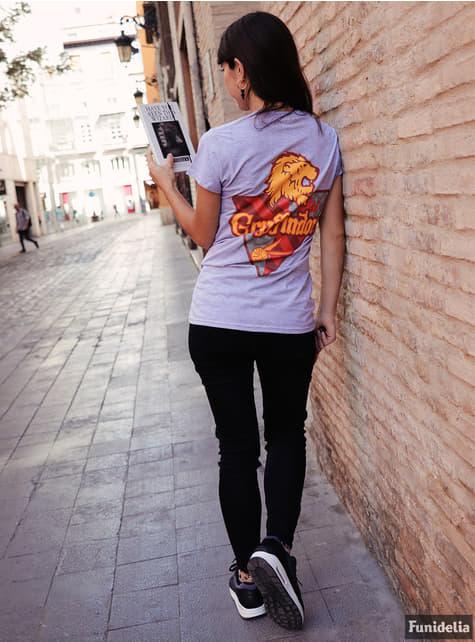 Camiseta de Harry Potter Casa Gryffindor para mujer - original