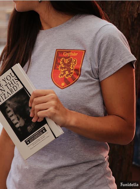 T-shirt de Harry Potter Casa Gryffindor para mulher