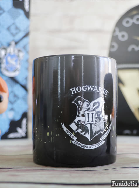 Farbverändernde Hogwarts Wappen Tasse - Harry Potter