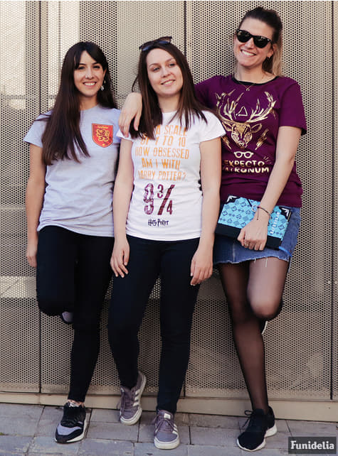 T-shirt de Harry Potter Expecto Patronum para mulher