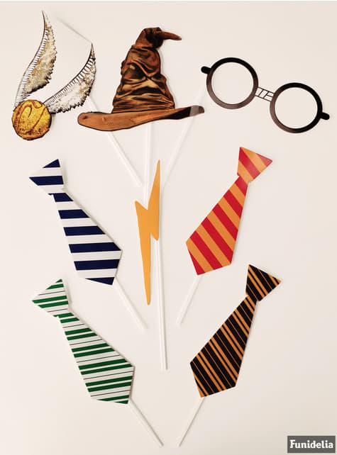 Accessoires pour Photo booth Maison de Poudlard - Harry Potter