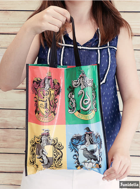 Bolsa de Harry Potter - Hogwarts Houses - barato