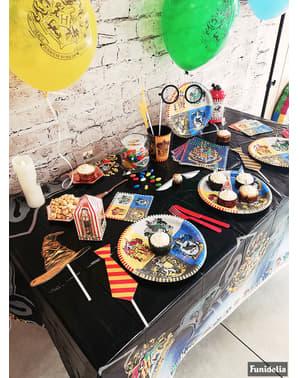 Покривка за маса с домовете на Хогуортс