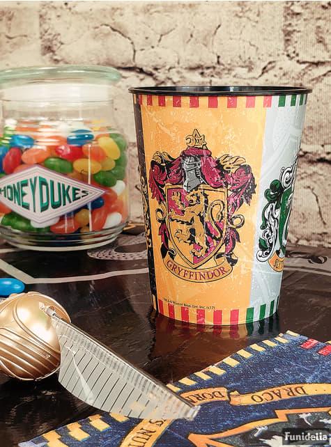 Vaso de plástico duro Harry Potter - Hogwars Houses - para tus fiestas