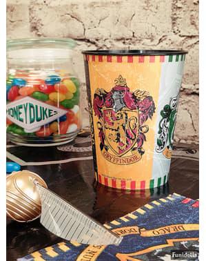 Twardy plastikowy kubek z herbami Domów Hogwartu - Harry Potter