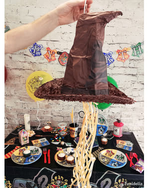 Piñata de Sombrero Seleccionador de Harry Potter - Hogwarts Houses
