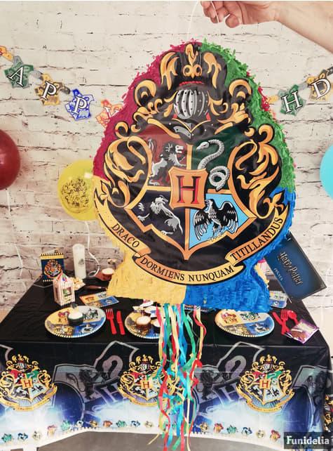 Piñata del escudo de Hogwarts Harry Potter - Hogwarts Houses - para tus fiestas