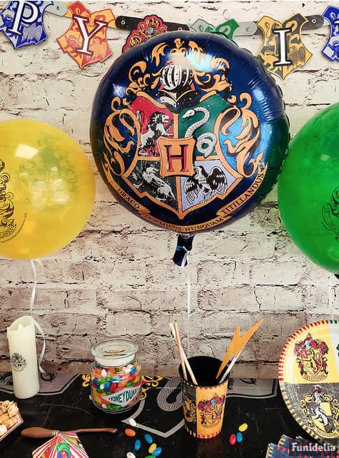 Globo de foil Harry Potter - Hogwarts Houses - para tus fiestas