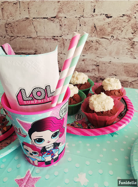 Hard plastic cup - LOL Surprise