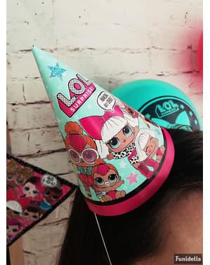 8 chapeaux anniversaire LOL Surprise