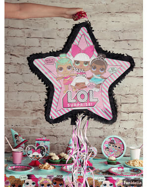 LOL Surprise star shaped pinata - LOL Friends