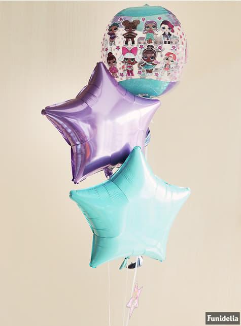 Globo de foil redondo de LOL Surprise - LOL Friends - para tus fiestas