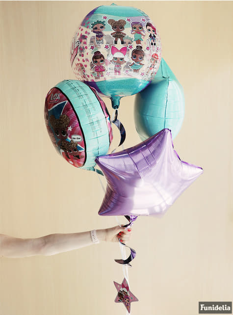 LOL Surprise foil balloon round - LOL Friends