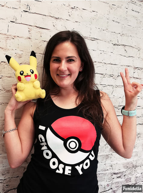 Black Pokeball t-shirt for women