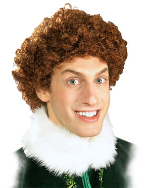 Mens Elf the Movie elf wig