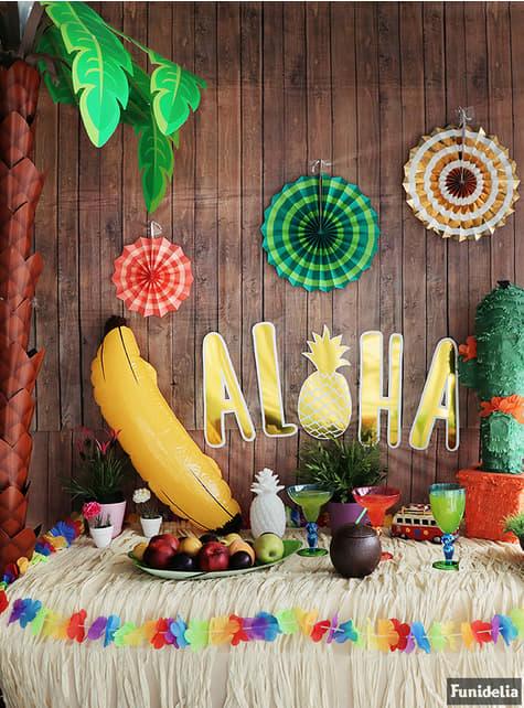 Kit de decoración de pared - Aloha - para tus fiestas