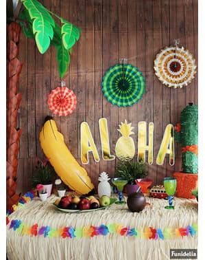 Aloha væg dekorations sæt