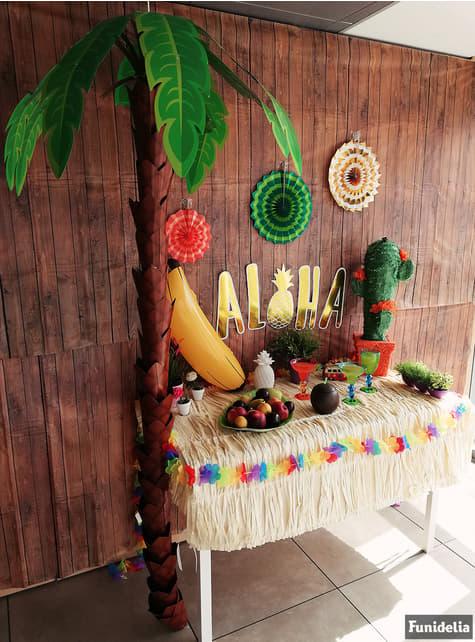 Palmera Hawai decorativa de cartón - para tus fiestas