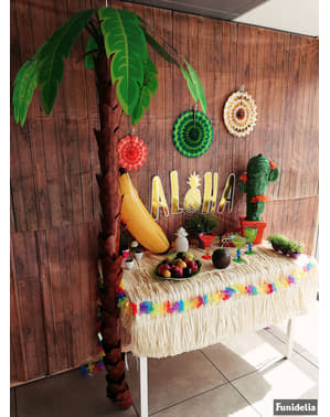 Dekorativní kartonová havajská palma