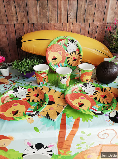 8 assiettes - Animal Jungle