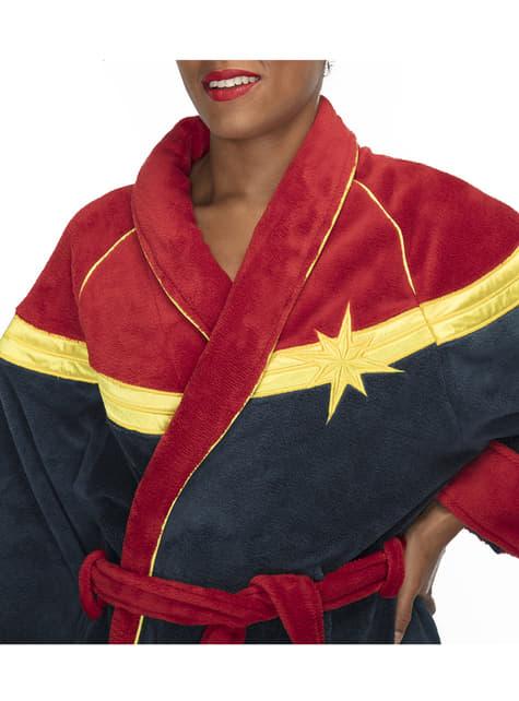 Albornoz de Capitana Marvel para mujer