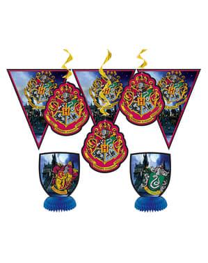 Zestaw dekoracji na przyjęcie inspirowane Domami Hogwartu - Harry Potter