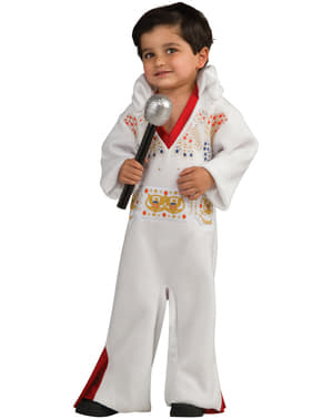 Fato de Elvis o rei para menino